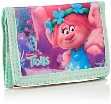 Trolls Childrens Kids Folding Wallet / Purse Multi Pink Target Dreamworks Movie