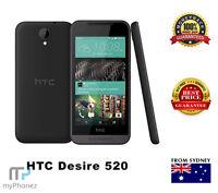"Brand New HTC Desire 520 Slate Gray 4G LTE 8GB 8MP 4.5"" Unlocked Mobile Phone"