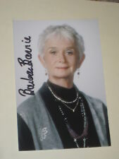 Actress BARBARA BARIE Signed 4x6 Photo AUTOGRAPH