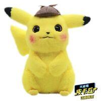 Peluche Pokemon Détective Pikachu 30cm Bulbizarre Mignon Doudou Cadeau Enfant Nw