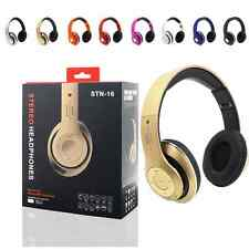 Foldable Stereo Wireless Bluetooth Headset Headphone with Mic For iPhone Samsung