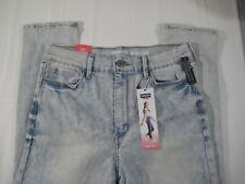 New Denizen Levis Mom Jeans Sz 15 Juniors Love Stretch Light Blue 5 Pocket Pants