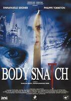 Body snatch DVD thriller Emmanuelle Seigner Torreton lingua italiano francese
