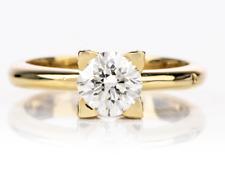 CHIMENTO GIA VVS2/L 1.07ct Center Diamond Solitair 18k Gold Ring