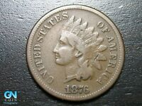 1876 Indian Head Cent Penny  --  MAKE US AN OFFER!  #B4643