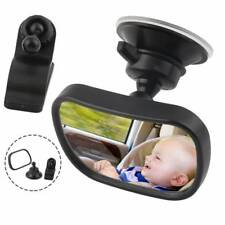 2 in 1 Car Rear Seat View Mirror Safety w/ Clip & Sucker For Kids Baby Toddlers♡