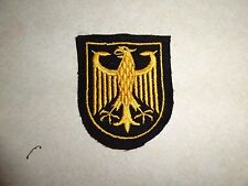 MILITARY PATCH GERMANY OR AUSTRIA COUNTRY OF OLDER GERMAN MADE