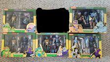 NECA TMNT Teenage Mutant Ninja Turtles Cartoon Lot NIB Mint Condition