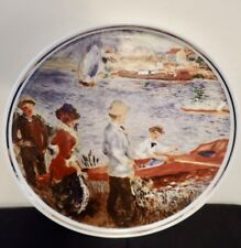 "Limoges France Bateliers A Chatou Auguste Renoir Large 12"" Collector Plate"