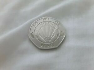 50p Coin 1998 Fiftieth Anniversary of the NHS 50p Coin Very Rare