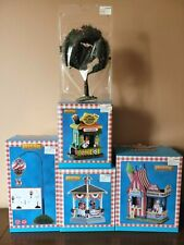 Lot of 5 New! Lemax Summer Table Accents Soaring and Strips/ Apple Tree B & More