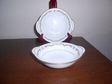 Noritake Aberdeen Lugged Cereal Bowls  Excellent Condition