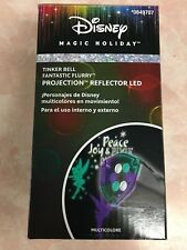 Disney Tinker Bell Fantastic Flurry Projection Spotlight Magic Holiday