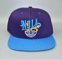New Orleans Hornets NOLA adidas NBA Trumpet Logo Snapback Cap Hat - NWT