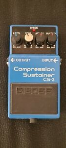 Boss CS-3 Compression Sustainer Pedal (Guitar effect)