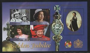 Tonga-Niuafo'ou 2002 Elizabeth Coronation S/S Sc# 239 NH