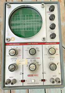 EICO Oscilloscope Model 465 DC Wide Band For Electronic Testing Vintage