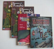 BD PUBLICITAIRE MEDICAL Lot de 4 albs - Pfizer Upjohn - Michel DURAND SALVADOR