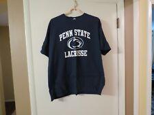 Penn State Nike Lacrosse T Shirt, Blue, Size Xl, New!
