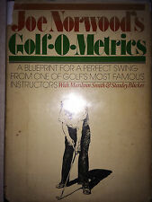 GOLF O METRICS BY JOE NORWOOD  *INSCRIBED*FIRST EDITION*
