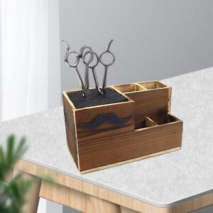 Salon Schere Container Haar Schneiden Halter Friseur Kämme Organizer