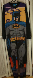 Batman One-Piece Pyjamas 158-164 cm 13-14 Yr Sleepwear Boys' DC Comics Nightwear