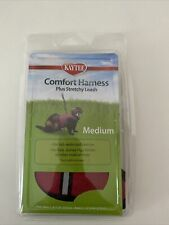 Kaytee Super Pet Red Comfort Harness W/Stretchy Stroller Medium New