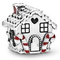 Ginger bread house Lebkuchenhaus PANDORA Charm 925er Sterlingsilber 798471C01