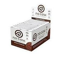No Cow Protein Cookie, Double Chocolate, 12g Plant Based Protein, Low Sugar