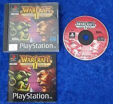 Warcraft II Dark Saga, ps1, Playstation 1 jeu, neuf dans sa boîte et mode d'emploi