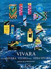 M- Publicité Advertising 1970 Eau de Toilette Parfums Vivara Emilio Pucci