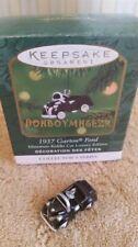 Hallmark 2001 1937 Garton Ford Miniature Kiddie Car Classics Series Ornament