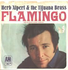 HERB ALPERT/TIJUANA BRASS--PICTURE SLEEVE + 45---(FLAMINGO)--PS--PIC--SLV