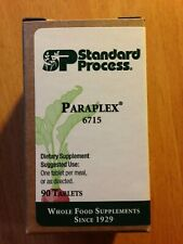 Standard Process Paraplex  6715 90 Tablets Exp 11-21