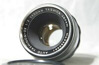 Yashica Auto Yashinon 5cm 50mm F/2 MF Lens SN5280361 for M42 Mount from Japan