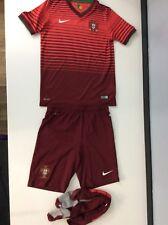 Potugal Nike Football, Kids, Size Medium, Age 10-12 Years, Shorts T Shirt