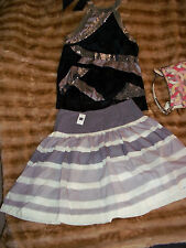 Gap's Striped Shirred Skirt Size 4