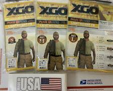 XGO Short Sleeve Tee  Shirt Desert Sand Flame Retardant Phase 1 Choice S M  L