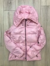 Auth MONCLER Women Hooded Down Puffer Jacket Giubbotto