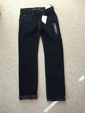 NWT BOY'S GAP WINTER FLANNEL  LINED JEANS PANTS Size 14 ADJUSTABLE WAIST