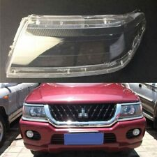 For Mitsubishi Sport Pajero Race Car Headlamp Clear Lens Auto Shell Cover