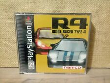 R4: Ridge Racer Type 4 (Sony PS1) *COMPLETE - TESTED*With Bonus Disc!