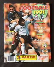 Panini Football 91 1991 Complete Rare + Completed Poster