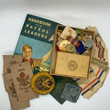 Boy Scout Book, Badges And Memorabilia From The Fifty, Boy Scouts Of America.