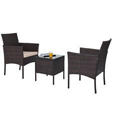 Gartenset Set Möbel Gartenmöbel 3 Stück mit Bank Tisch Stühlen Lounge-Set