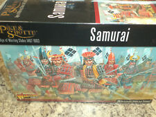 Samurai - Pike and Shotte Set War Models Warlord Games New! &
