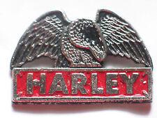 Harley Eagle Motorcycle Pin Badge
