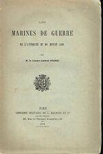 Les marines de guerre de l'antiquité et du moyen age M. Le Contre-Amiral Serre