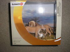 New Schleich Scenery Pack World of Nature Wild Life 41367 Lions