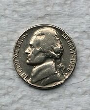 Mint Error 1968-D Jefferson Nickel Clipped Planchet Error near date collectible
